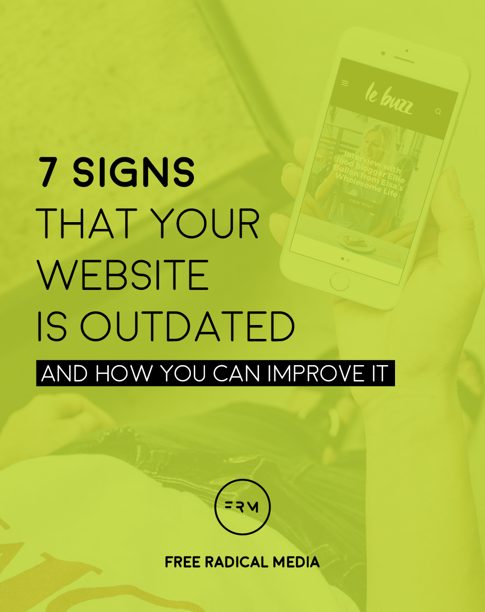 7 signs your website is outdated