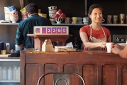 social-media-follow-counter-coffee-shop