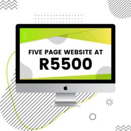five-page-website